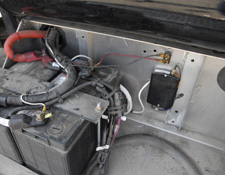 SolarTrak Tracker in Truck Battery Box