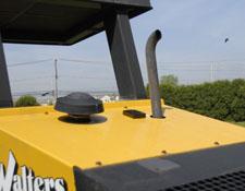 Tracker installed on Roller Hood