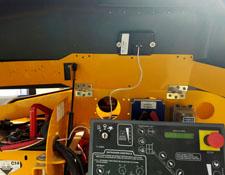 Tracker installed inside Boom Lift Controller