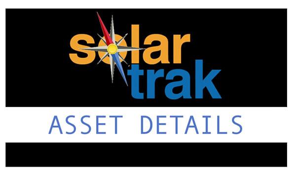 SolarTrak Basics: Asset Details Screen
