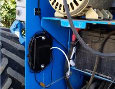 SolarTrak unit installed in Scissor Lift