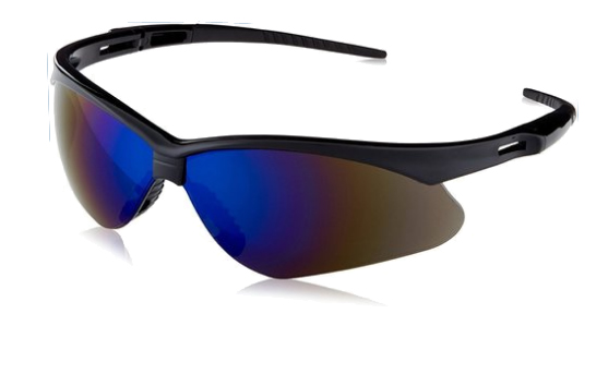 Cool tinted safety shades - yours for watching our demo